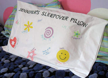Sleepover Pillowcase
