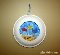 Paper Plate Aquarium | Fun Family Crafts