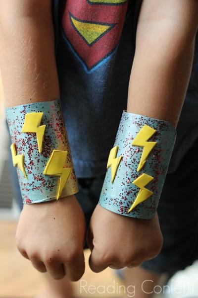 Superhero Cuffs Fun Family Crafts