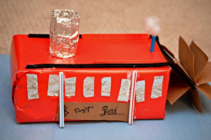 tissue box steamboat