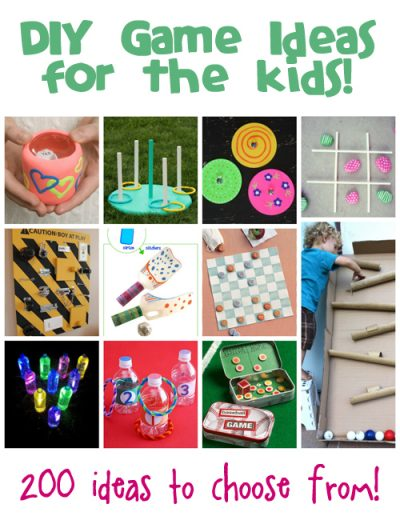 homemade games ideas for