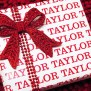 Personalized Name Gift Wrap Fun Family Crafts