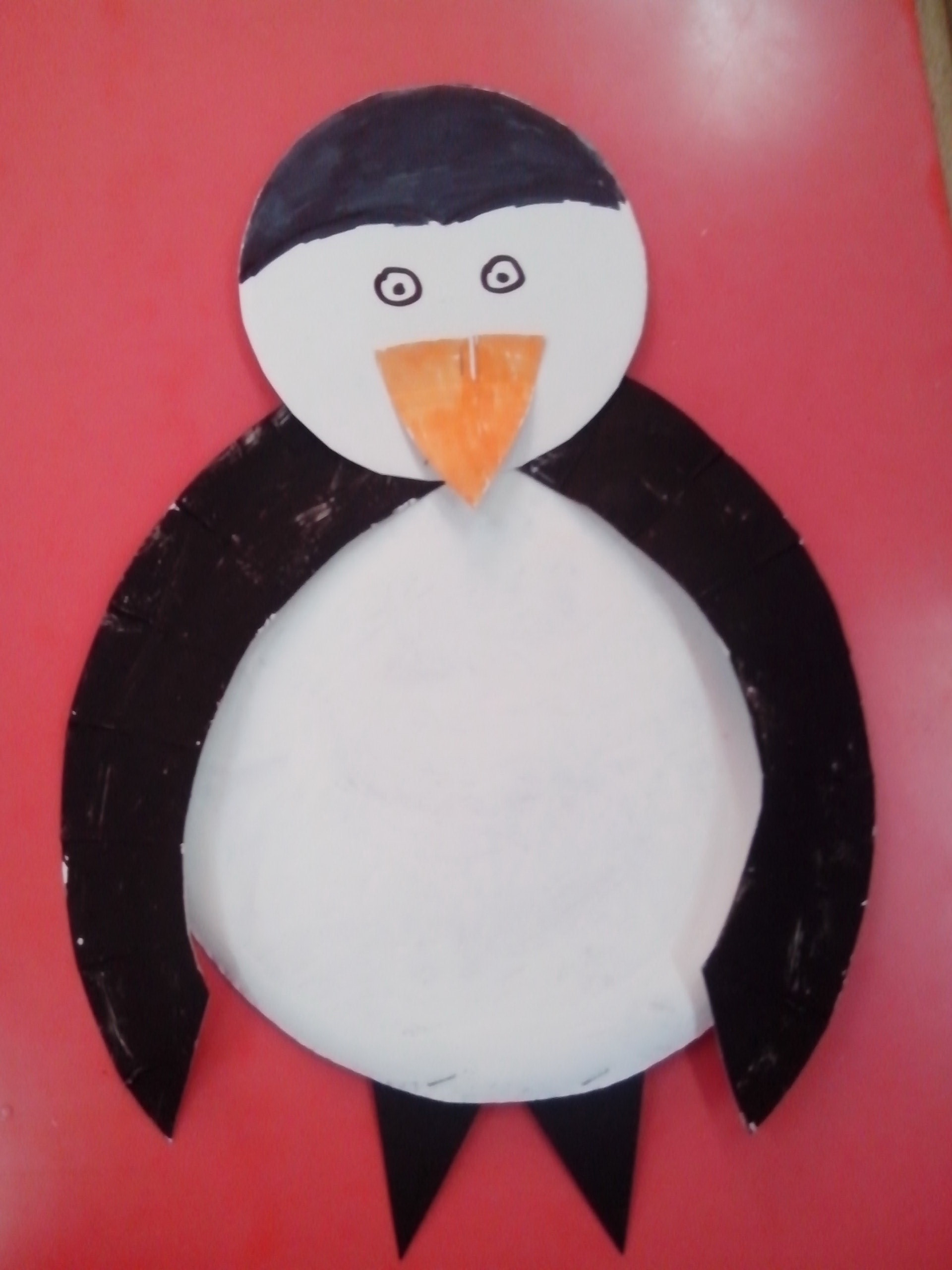 Paper Plate Penguin Fun Family Crafts