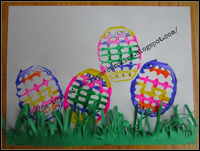 Potato Masher Easter Eggs Fun Family Crafts