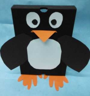 Shoebox Penguin Fun Family Crafts