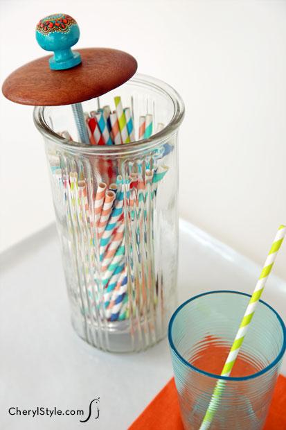 Straw Holder  Fun Family Crafts