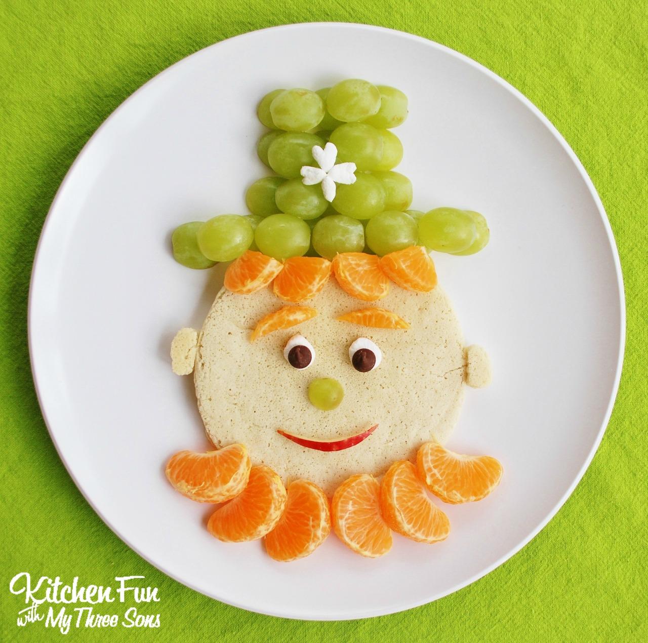 St Patrick S Day Leprechaun Pancakes