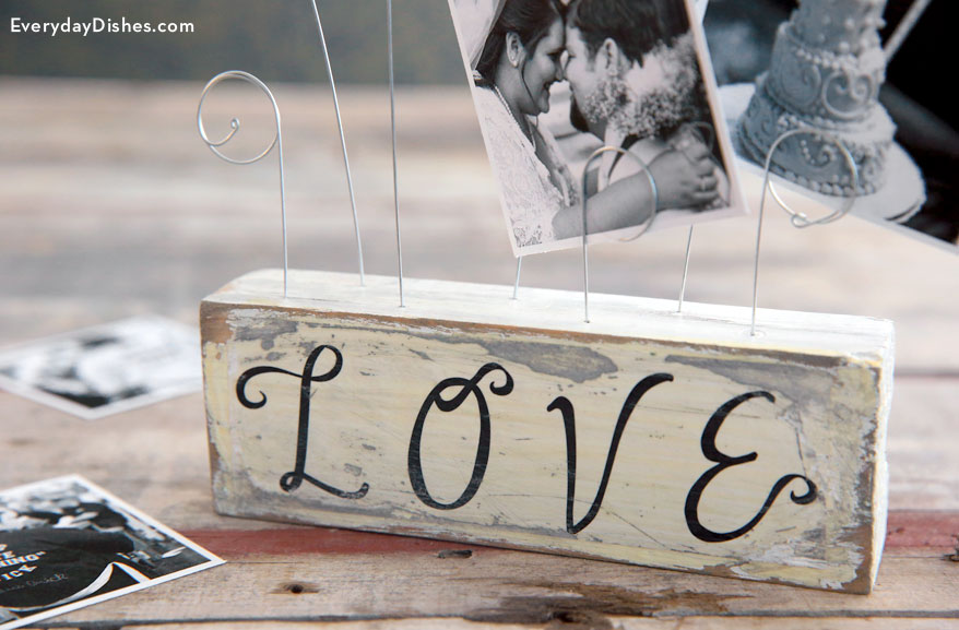 Wire Photo Holder  Fun Family Crafts