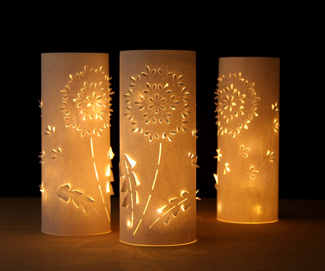 Dandelion Paper Lanterns  Fun Family Crafts