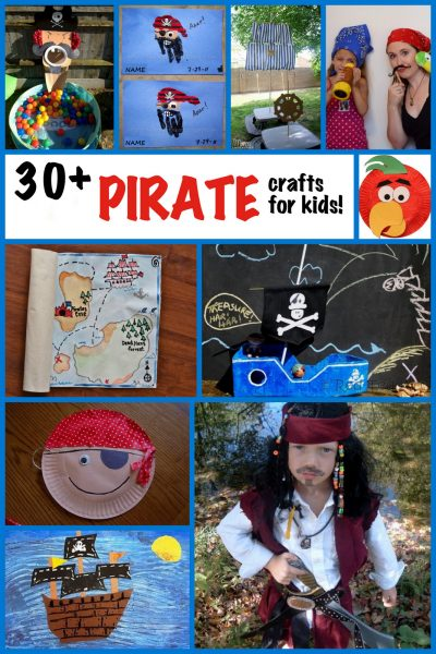 Party Treasure Pirate Map