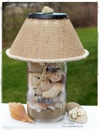 Seashell Lamp | Fun Family Crafts