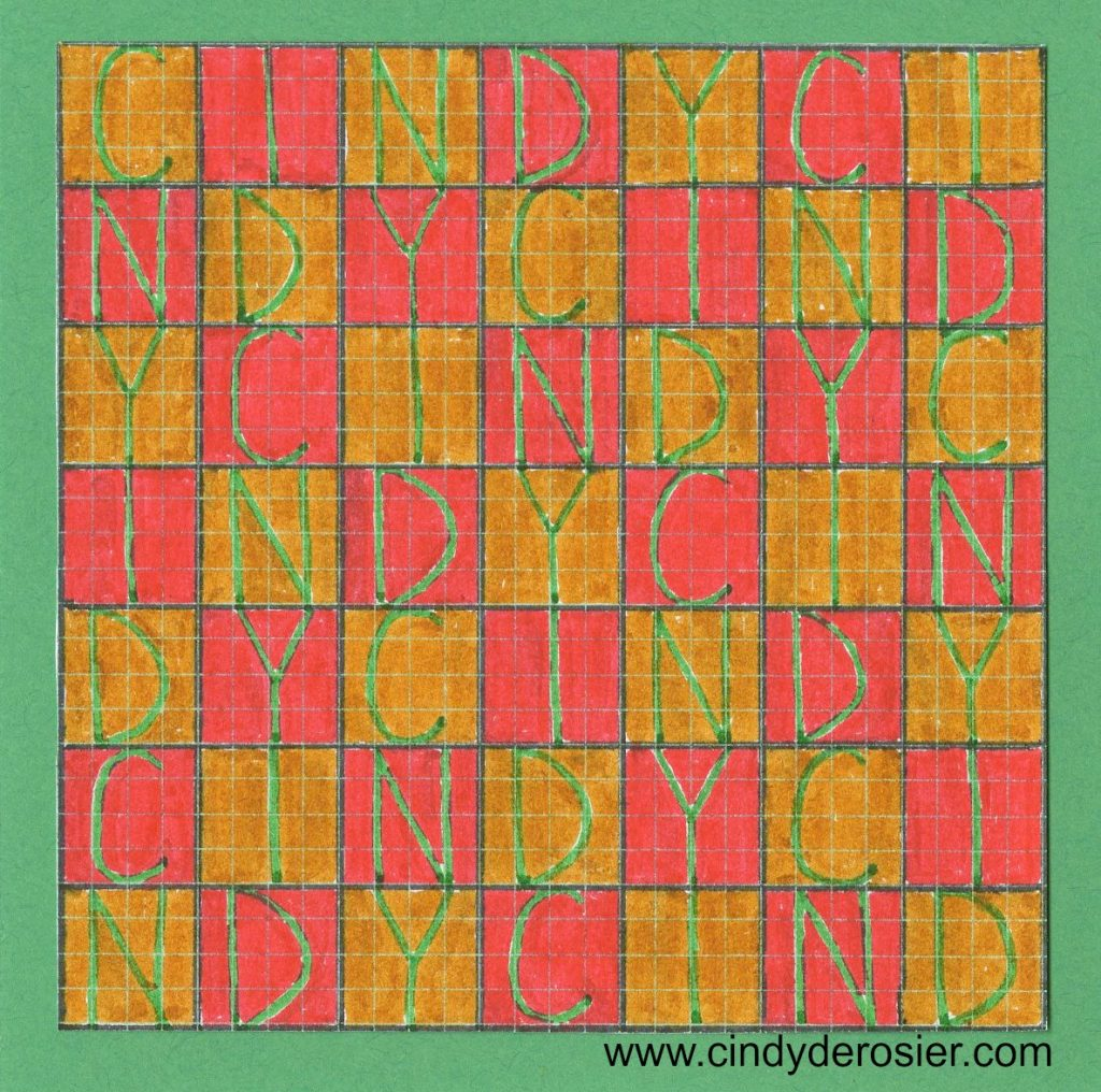 easy graph paper art