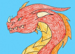 dragon draw steps fun chinese simple easy crafts diagram learn follow any funfamilycrafts