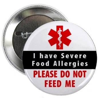 Traveling abroad with children and food allergies
