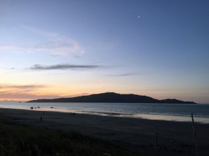 Waikanae Beach Sunset New Zealand