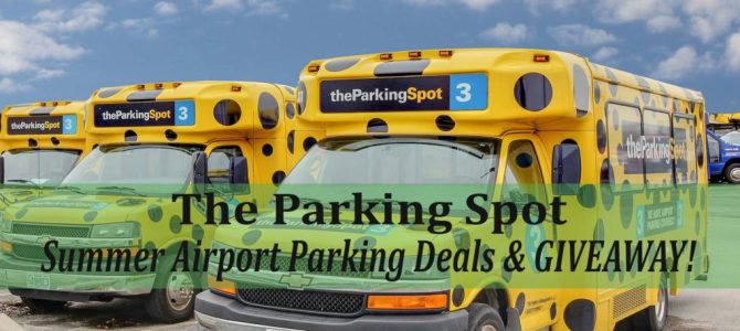 The Parking Spot Airport Parking Deals & GIVEAWAY!