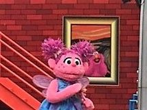Sesame Place Abby Cadabby