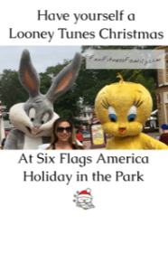 Have yourself a Looney Tunes Christmas at Six Flags America Holiday in the Park in Washington D.C.
