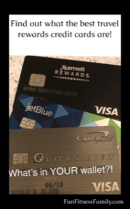 Travel & Adventure Show Rewards Credit Cards