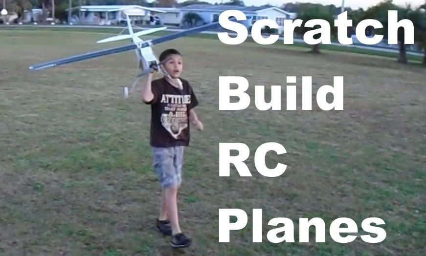 Chris Holding FliteTest Simple Storch RC Airplane