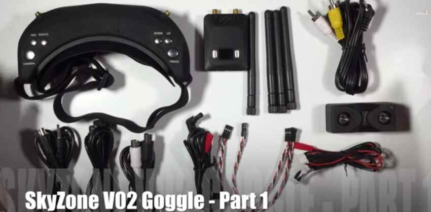 3D FPV Goggles with DVR