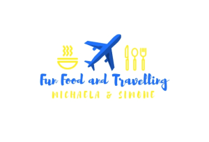 fun food and travelling logo