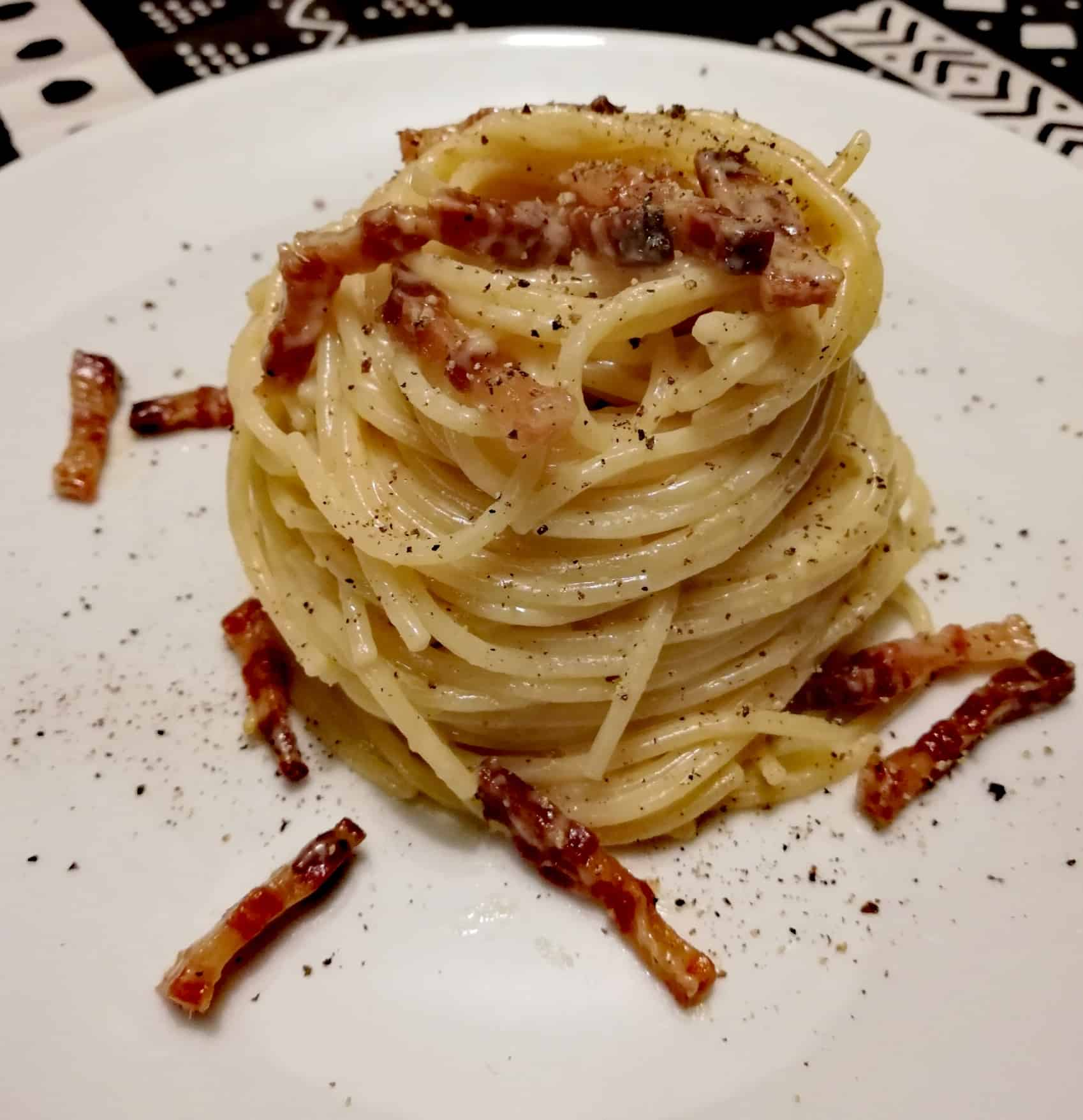 Top 10 Most Delicious Italian Foods   This is Italy   Page 5  Delicious Pasta Carbonara