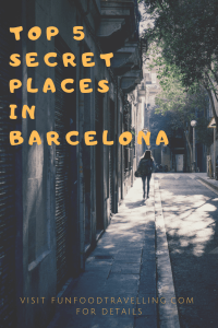secret places barcelona