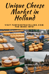 visit alkmaar cheese market as unique trip from Amsterdam