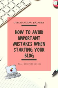 blogging journey and how to start a blog without mistakes