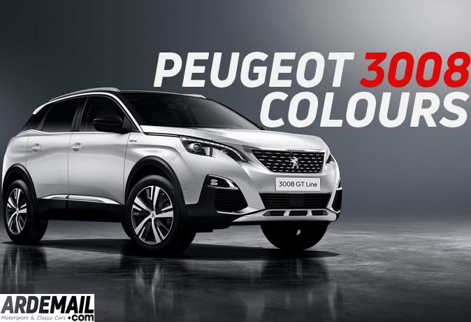 6 Peugeot 3008 Colour Cars For 2018