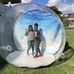 Our new 2 chamber Human Snow Globe