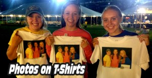 Photo T-Shirts are a hit at events