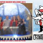 Texas Tech designed their own, great looking, frame for our old model snow globe