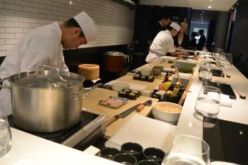 Preparation prior to Nakazawa's greeting