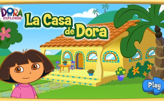Welcome To Dora S House Game