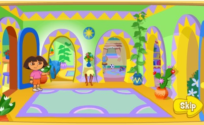 Welcome To Dora S House Game Fun Girls Games
