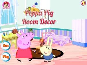 peppa pig decor fun games