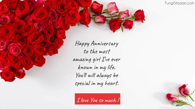 Wedding Anniversary Wishes Quotes Messages for Her