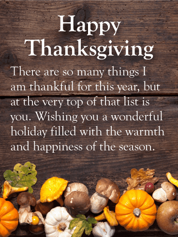 Wishes Images of Thanksgiving 2018