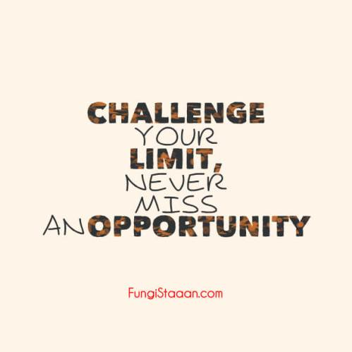 Challenge Motivation Quotes
