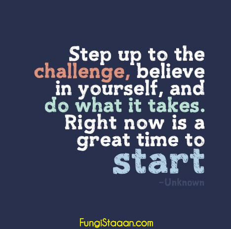 Quotes on Challenge Yourself