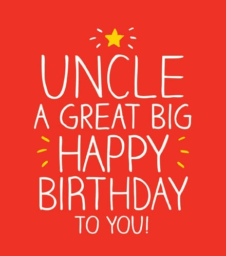 Birthday Uncle Images