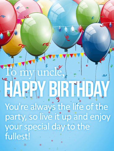Happy Birthday Uncle Wishes