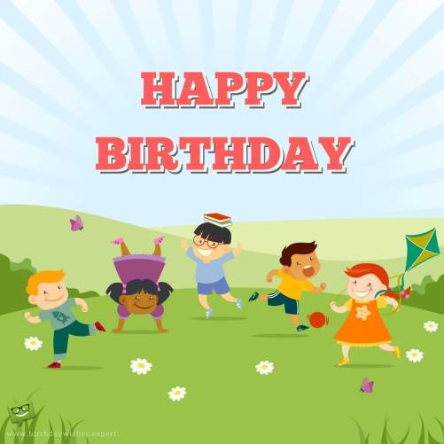 Birthday Wishes for Children