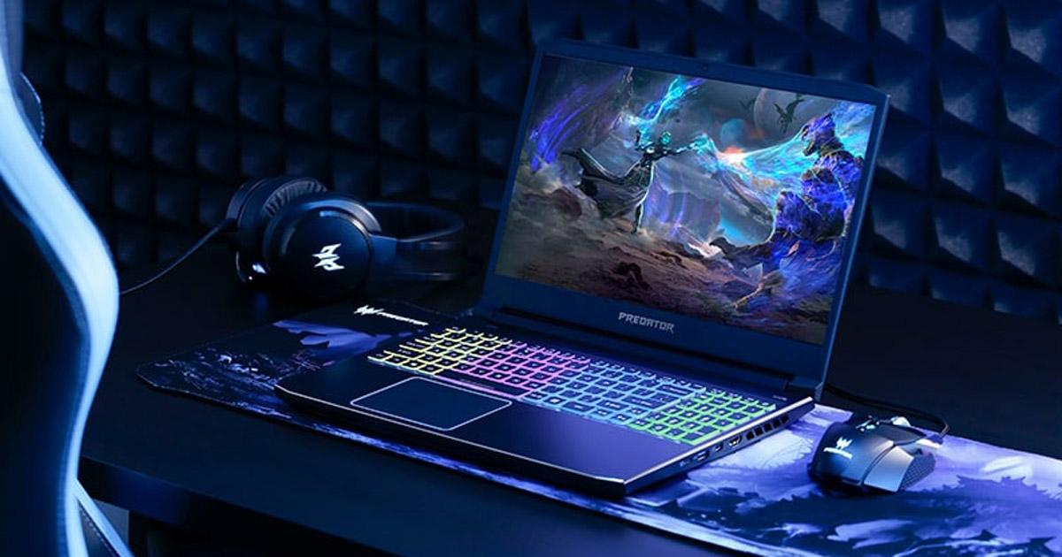Acer「Predator Helios」シリーズ発表。スライドキーボード搭載のゲーミングラップトップPC。