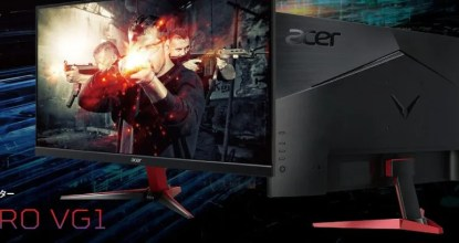 Acerが1ms超高速応答ゲーミングモニター「VG271Pbmiipx」を発売