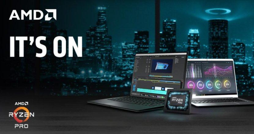 ラップトップに特化した最新CPU「Ryzen Pro 3000」をAMDが発表