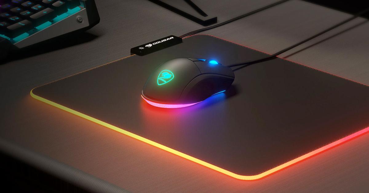 COUGAR於日本推出支援RGB的LED電競滑鼠墊COUGAR NEON