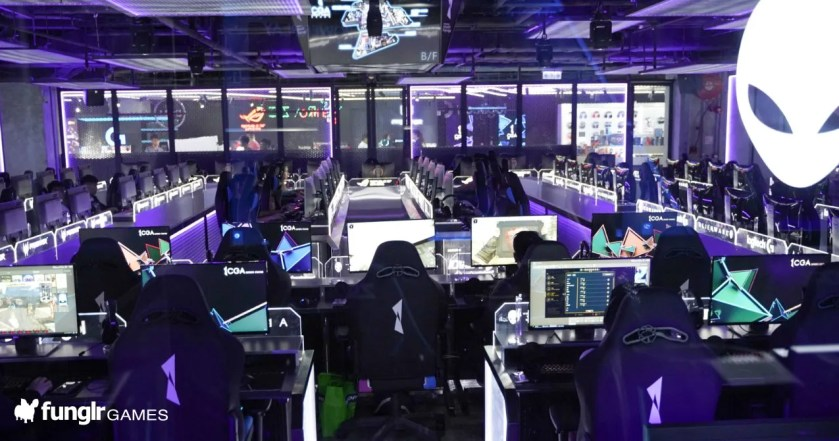We went to CGA, the biggest esports venue in Asia!